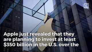 Tech Giant Announces 350 Billion U.s. Investment - Video