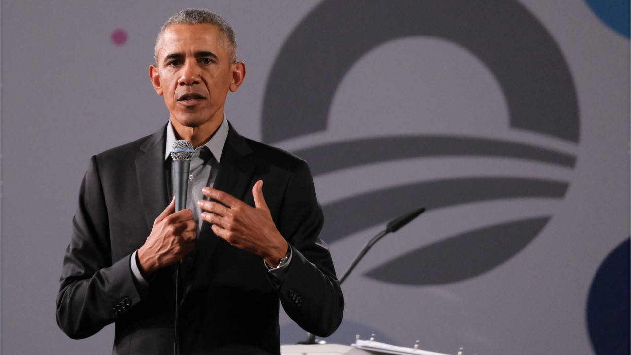 Barack Obama tells Democratic candidates to 'chill out'