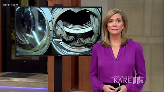 Mom Investigates Strange Noise from Washing Machine. Then It Starts Shooting 'Shrapnel' - Video