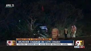 Woman faces murder charge in I-275 crash - Video