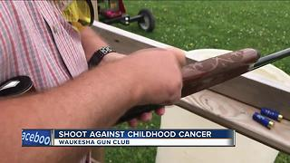 Gun owners take aim at childhood cancer - Video