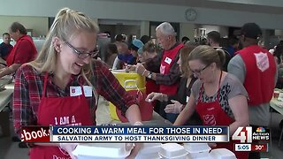 Salvation Army to provide free Thanksgiving meal to those in need Thursday