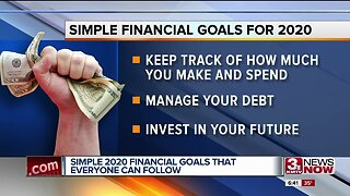 Simple 2020 financial goals everyone can follow