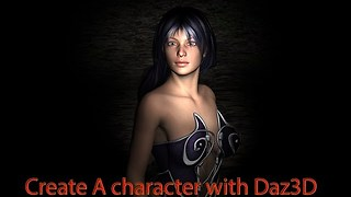 Create a character with Daz3D