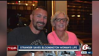 Bloomington woman meets stranger who saved her life with bone marrow donation - Video