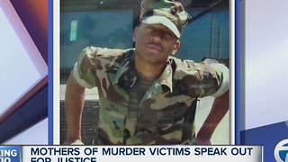 Mothers' of murder victims plead for justice - Video