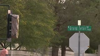 New traffic signal in northwest Las Vegas - Video