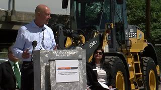 RAW: CDOT announces Kiewit Meridiam Partners will lead I-70 development project - Video