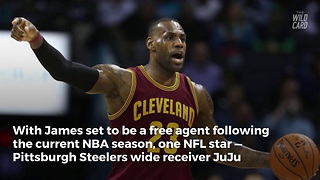 LeBron James Gives His Definitive Answer On Joining The NFL - Video