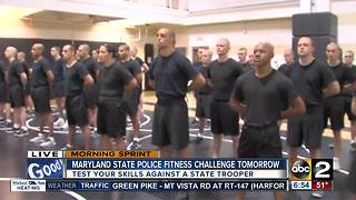Test your skills with the Maryland State Police Fitness Challenge
