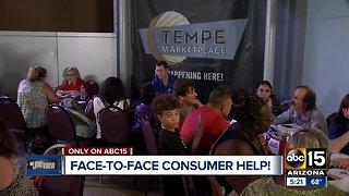 Wednesday: Get help with your consumer problems at Tempe Marketplace