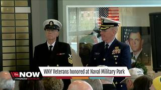 WNY Veterans honored at Naval Military Park - Video