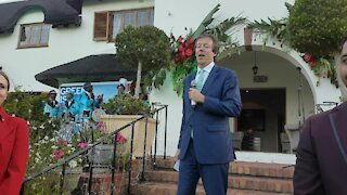 SOUTH AFRICA - Cape Town - British High Commissioner pre-SONA reception (Video) (nGh)