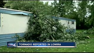 Tornado reported in Lomira, homeowners deal with damage