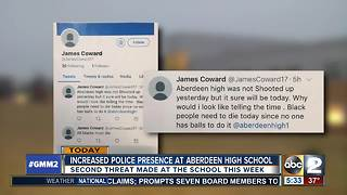Social media threat being investigated at Aberdeen High School - Video
