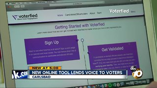 Voterfied helps residents be heard - Video