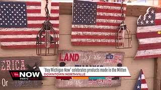 Buy Michigan Now festival ongoing in Northville - Video
