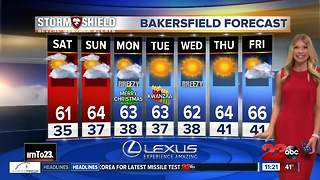 December 22 nightly forecast - Video