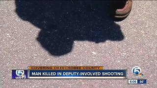 Community reacts to officer-invoved shooting in Okeechobee County - Video