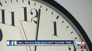 Proposal to nix twice-yearly time change in Florida gains traction - Video