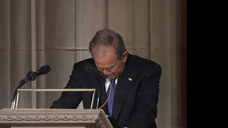 George W. Bush's Full Eulogy for His Late Father George H.W. Bush