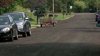 Grand Island homeowners fight against road paving - Video