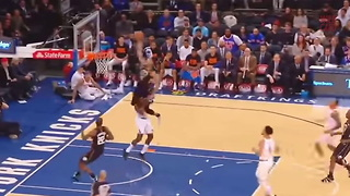 Watch Giannis Antetokounmpo Jump Over Defender For Epic Dunk - Video