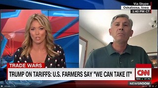 CNN Anchor Asks Same Question 3 Times, Farmer Knows Exactly How to Answer