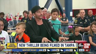 Harry Connick Jr is filming a new movie in the Tampa Bay Area