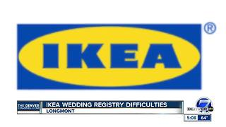 Newlyweds: IKEA refuses to help with flawed gift registry - Video