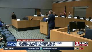 In The Classroom: Sarpy County Government Day - Video