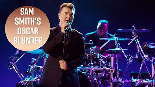 Sam Smith admits he was drunk during his Oscars speech - Video