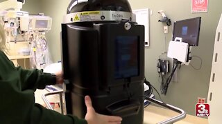 New CHI Health robots help disinfect rooms during COVID