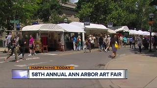 Ann Arbor Art Fair 2017 - Video