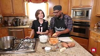 Big Mama's candied yams with Elissa the Mom | Rare Life - Video