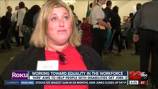 'Hire' aims to help people with disabilities get jobs