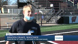 FNL Player of the Week: Braden Drake, Wagoner