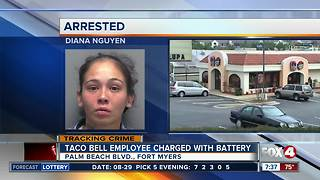 Taco Bell employee charged with battery - Video