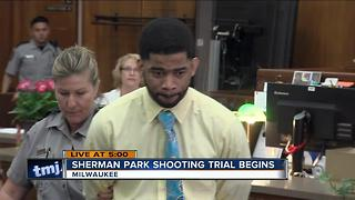 Sherman Park shooting trial begins - Video