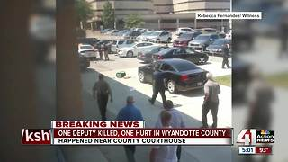 1 deputy killed, 1 injured in shooting in Wyandotte County - Video