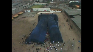 World's Largest Pair of Jeans - Video