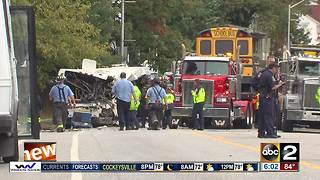 Baltimore City School buses getting checked for safety - Video
