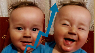 Baby Tests Vocal Abilities  - Video
