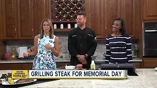 Grill master offers tips on how to grill perfect steak