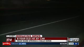 Child injured after being hit by car in Henderson - Video