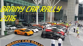 Brainy Car Rally 2016- Loud Revs ft Lamborghini Club Singapore - Video