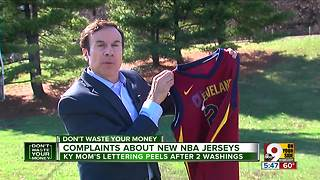 Complaints about new NBA jerseys - Video