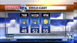 Thursday forecast: More rain today - Video