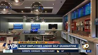 San Diego AT&T worker's initial coronavirus test comes back positive