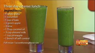 Tina and Krystal start a 3 day cleanse - Video